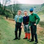 Antony, Andrew, Mark.  March 1991