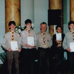 Chief Scouts Awards ceremony