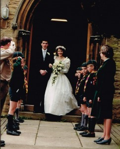 Guard of Honour for Claire 1989