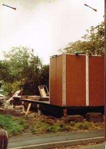 Beginning the build - October 1985