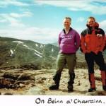 On Beinn a'Chaorainn 8/6/96
