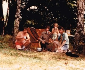 Walesby Camp 1984, Stuart, Steve, and Andrew