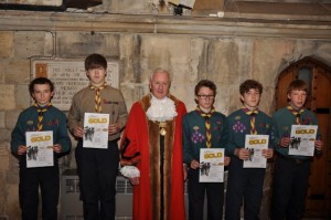 Scouts 2014 Chief Scouts Award