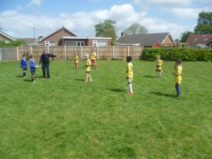 Not forgetting the District Tag Rugby Competition